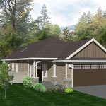"""The """"Hudson"""" floor plan, available at McCormick Meadows, is a rancher home designed by Keycorp."""